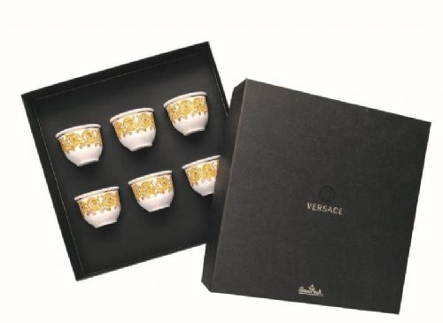 Vesace Medusa Rhapsody Set Of 6 Small Cups Without Handle